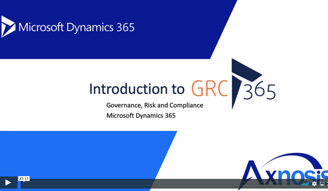 Introduction to GRC 365 – video